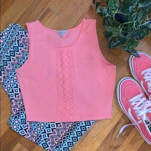 Charlotte Russe | Coral Colored Crop Top! ❤️